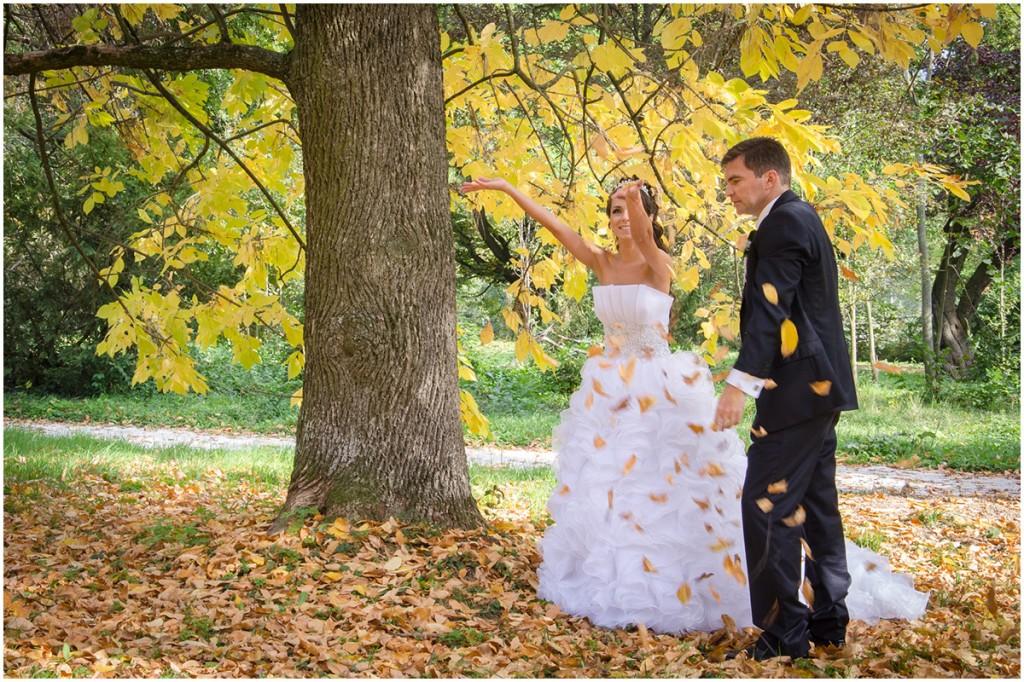 jesenná svadba