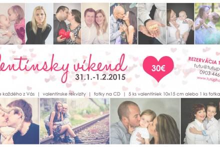 Valentínske víkendové fotenie 2015