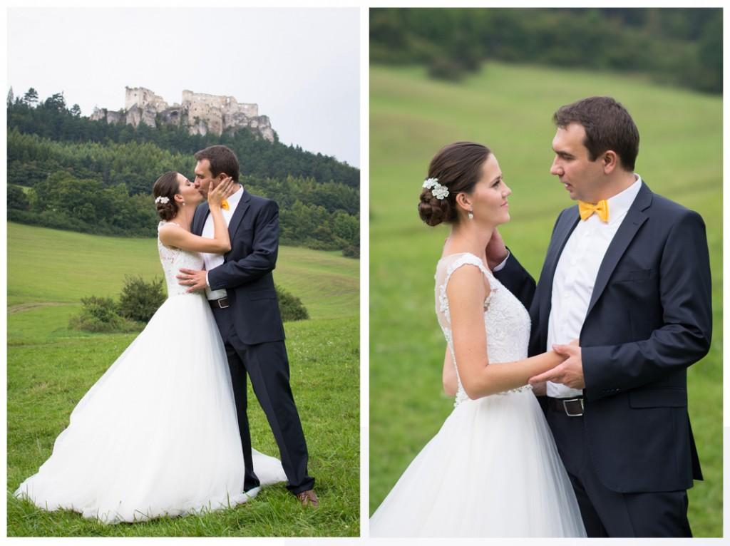 svadobné fotenie Lietavský hrad