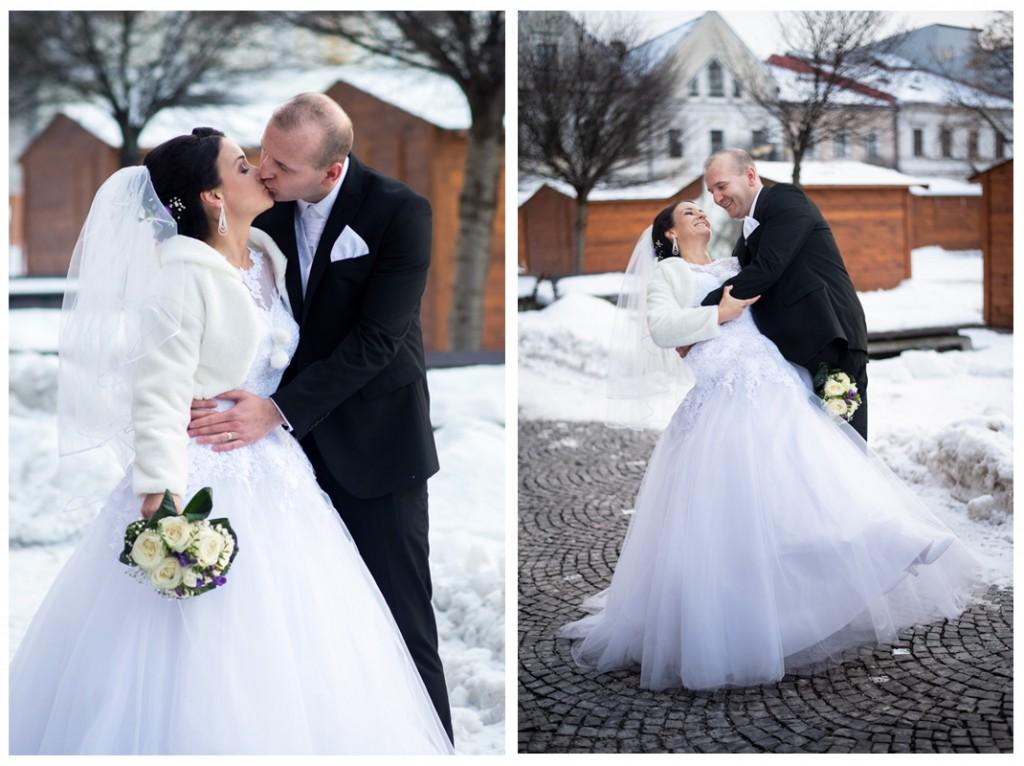 svadba na snehu