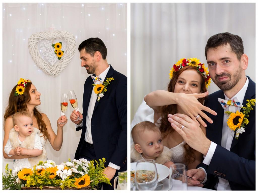 slnečnicová svadba