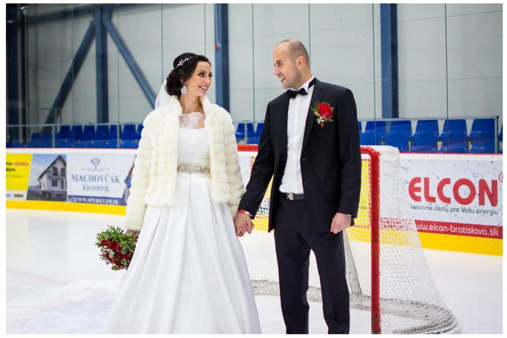 hokejová svadba