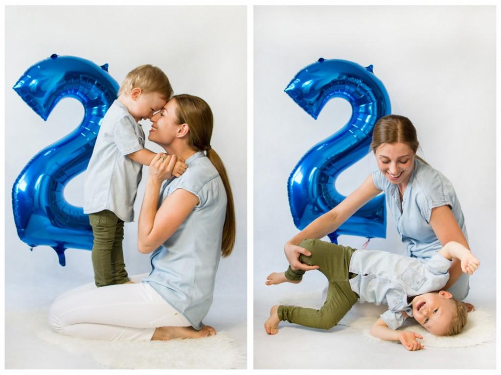 narodeninové fotenie detí