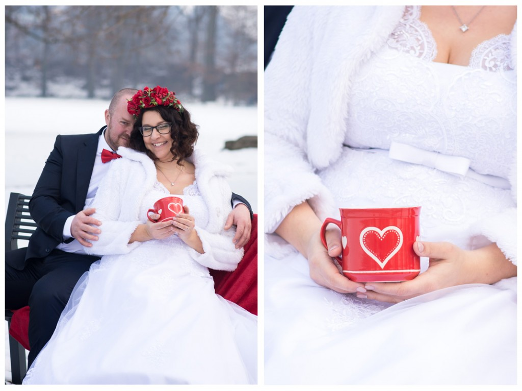 zimná svadba